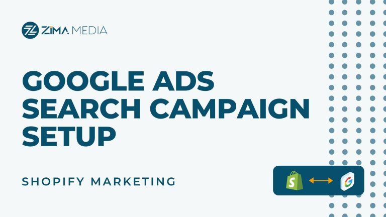 Google Ads Search Campaign Setup